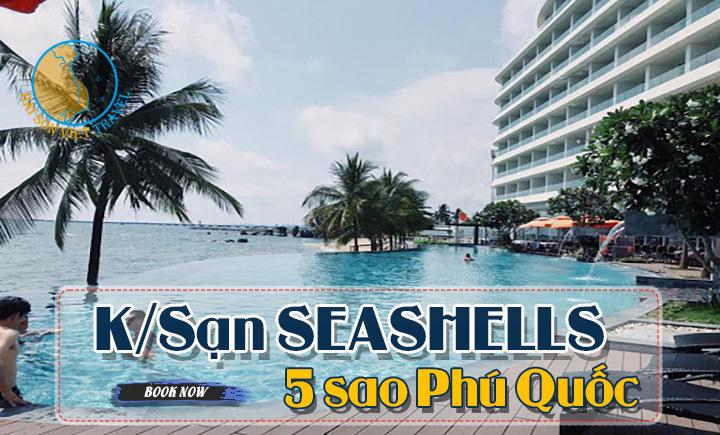 Combo Khách sạn SeaShell Phú Quốc 3 ngày 2 đêm