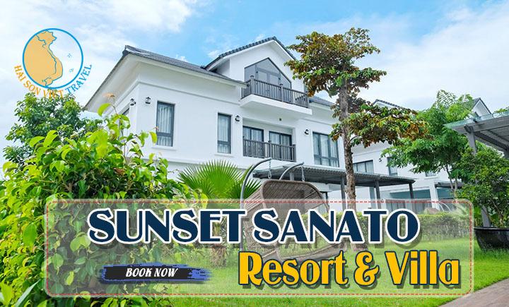 Combo Sunset Sanato Resort & Villa Phú Quốc + Vé máy bay
